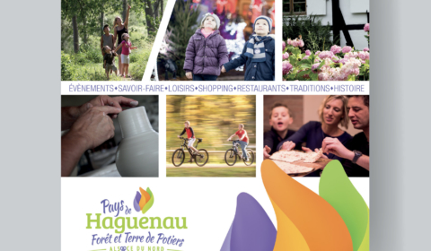Affiche pour l'Office de tourisme de Haguenau