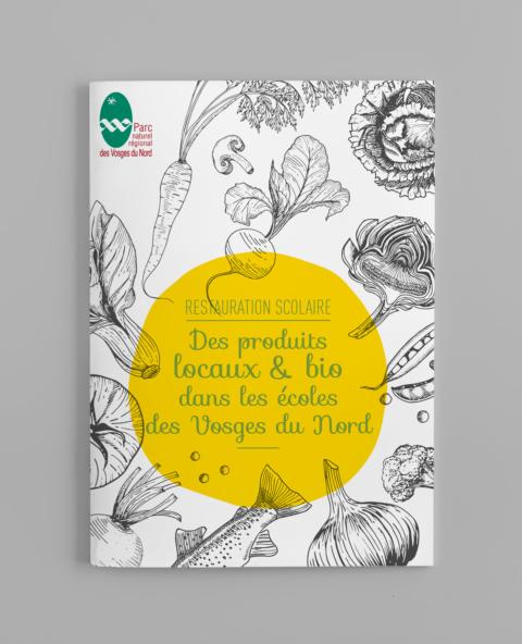 Brochure pour le Parc naturel régional des Vosges du Nord